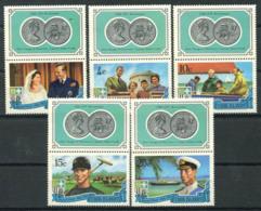 Isole Cook 1971 Mi. 268-272 Nuovo ** 100% Principe Filippo - Cook