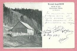 68 - MARKIRCH - STE MARIE Aux MINES - Eckircher Höhe - Echery - Maison Du Bois - Wirtschaft Joseph BLAISE - Sainte-Marie-aux-Mines