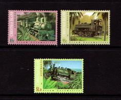 CHRISTMAS  ISLAND   1994    Steam  Locomotives    Set  Of  3       MNH - Christmas Island
