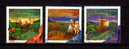 CHRISTMAS  ISLAND   1996   Christmas    Set  Of  3       USED - Christmas Island