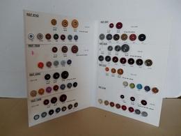 Boutons TACCHIN . Planche Catalogue De Représentant.. Port Gratuit . - Buttons