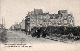 Nieuport-Bains  Voie Auguste Charette Rails Du Tram   Circulé En 1903 - Nieuwpoort