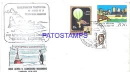 117488 ARGENTINA BUENOS AIRES COVER 1975 CIRCULATED TO ANTARTIDA ANTARCTICA BASE AEREA V. COMODORO MARAMBIO NO POSTCARD - Argentinien