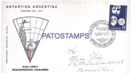 117491 ARGENTINA ANTARCTICA BASE AEREA V. COMODORO MARAMBIO COVER 1970 CIRCULATED TO  BUENOS AIRES NO POSTCARD - Argentinien