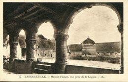 CPA -  VARENGEVILLE - MANOIR D'ANGO, VUE PRISE DE LA LOGGIA - Varengeville Sur Mer