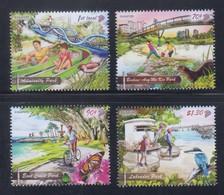 Singapore 2019 Parks, Birds, Butterfly, Otter, Cycling, Bridge MNH - Singapore (1959-...)