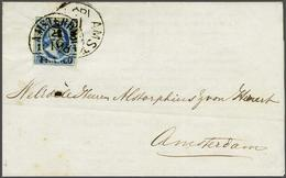 NL 1852 King William III - Stamps
