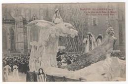 Nantes - Mi-carême 1912. 2 - Le Char De La Reine De Beauté Melle Tanguy, De La Maison Marx - Nantes