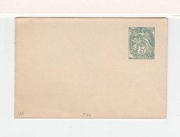 1924. Entier Postal Enveloppe Type Blanc 5 C. Date 530. (2456x) - Enveloppes Repiquages (avant 1995)