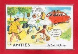 62-CPSM SAINT-OMER - Saint Omer
