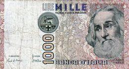 Billet De L'Italie De 1000 Lire Le 6 Janvier 1982 En T B - - [ 2] 1946-… : République
