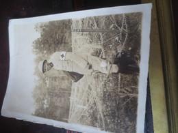 PHOTO MILITAIRE NOIR ARGONNE OCTOBRE 1915 - VOIR PHOTOS - Uniforms