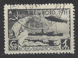 URSS - 1931 - Usato/used - Graf Zeppelin - Mi N. 404 - 1923-1991 URSS