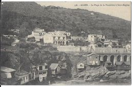 ALGER ALGÉRIE 538 LA PLAGE DE LA POUDRIÈRE A SAINT-EUGÈNE COLL. RÉGENCE - Alger