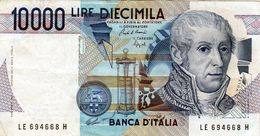 Billet De L'Italie De 10.000 Lire Le 3 Septembre 1984 En T T B + - Signature Cam - [ 2] 1946-… : Républic