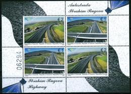 """Kosovo MiNr. Bl. 28 ** Autobahn """"Ibrahim Rugova"""" - Kosovo"""
