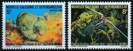 Neukaledonien MiNr. 652/53 ** Aquarium Von Nouméa - Neukaledonien
