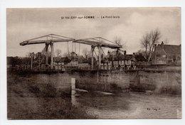 - CPA SAINT-VALÉRY-SUR-SOMME (80) - Le Pont-levis - Edition Legris - - Saint Valery Sur Somme