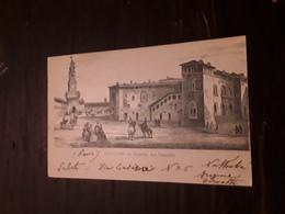 Cartolina Postale 1900, Vigevano Interno Del Castello - Vigevano