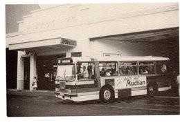 72 -- LE MANS --  AUTOBUS  C.B.M.  ( Car Bus Mansot)  Sur Ligne AUCHAN à AIGNE  ( Carte Invitation  Non Cp) - Le Mans