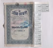 Crown Brewery. - Aandelen