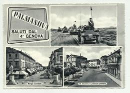 PALMANOVA - SALUTI DAL 4° GENOVA - VIAGGIATA FG - Udine