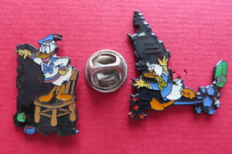 2 Pin's, DONALD DUCK - Disney