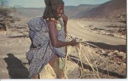 Djibouti - Confection Des Nattes - Ed. E. Bourlon  1000-62 - Gibuti