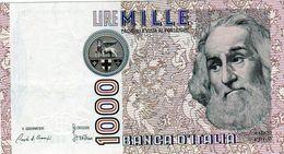 Billet De L'Italie De 1000 Lire Le 6 Janvier 1982 En S U P + - [ 2] 1946-… : République