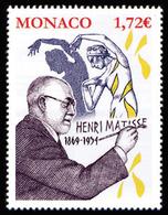 Monaco 2019 - 150ème Anniversaire De La Naissance D'Henri Matisse ** - Monaco