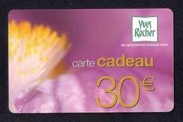 Carte Cadeau YVES ROCHER   30€ - Cartes Cadeaux