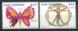 San Marino 2006 Sass. 2110-2111 Nuovo ** 100% L'integrazione Vista Dai Giovani - Nuovi
