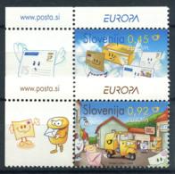 Slovenia 2008 Mi. 682-683 Nuovo ** 100% Posta - Slovenia