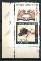 Turchia 2008 Mi. 3663-3664 Nuovo ** 100% Lettere, E. Cept - 1921-... Repubblica