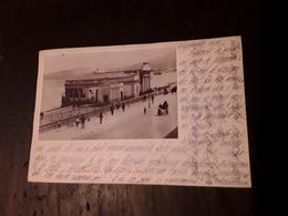 Cartolina Postale Fotografica 1900, Reggio Calabria, Lungomare - Reggio Calabria