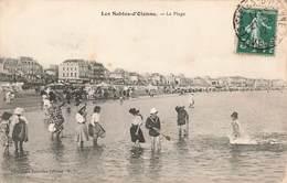 85 Les Sables D' Olonne La Plage Cachet 1912 - Sables D'Olonne