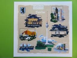 PAP - Carte Postale Pré-timbrée - Timbre International Reichstag - Berlin Capitale Européenne - Série Capitales - Documenten Van De Post