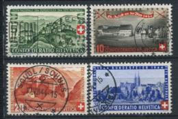 Svizzera 1944 Mi. 431-434 Usato 100% Pro Patria, Paesaggi - Pro Patria