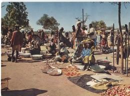 1979 Libreville - Marché Africain - Market Markt - Belle Machine Cancellation En Rouge Novotel Dowe - Gabon