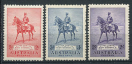 Australia 1935 Mi. 129-131 Nuovo * 60% Giubileo, Re Giorgio V - Nuovi