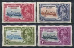Isole Salomone 1935 Mi. 52-55 Nuovo * 100% Giubileo, Re Giorgio V - Isole Salomone (...-1978)
