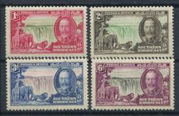 Rhodesia Meridionale 1935 Mi. 32-35 Nuovo * 100% Giubileo, Giorgio V - Rhodesia Del Sud (...-1964)