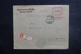 ALLEMAGNE - Enveloppe Commerciale En Recommandé De Köln Pour La France En 1926, Affranchissement Mécanique - L 38116 - Allemagne