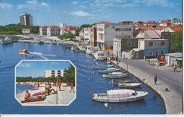 1985 Vodice - Vue Sur Plage - Haven - Port - Ed. Zadruzna Stampa - Croatie