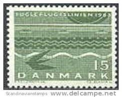 DENEMARKEN 1963 Veerdiensten Fluorescerend Papier PF-MNH-NEUF - Neufs