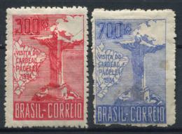 Brasile 1934 Mi. 413-414 Nuovo * 20% Corcovado - Neufs