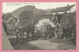 Vogesen - 68 MARKIRCH - Ste MARIE Aux MINES - Bahnhof - Gare - Ankunft Vom Liebesgaben - Feld-Postkarte - Guerre 14/18 - Sainte-Marie-aux-Mines