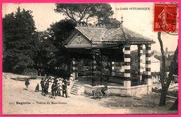 Bagnols Sur Cèze - Cèse - Théâtre Du Mont Cotton - Kiosque - Animée - Canon Cartonnage BOISSIN - Edit. C. ARTIGE - 1908 - Bagnols-sur-Cèze