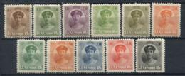 Lussemburgo 1921 Mi. 122-133 Nuovo ** 100% Granduchessa Charlotte - 1914-24 Maria-Adelaide