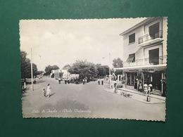 Cartolina Lido Di Jesolo - Viale Dalmazia - 1955 - Venezia